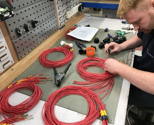 Cable harness repairs by SK Electronics