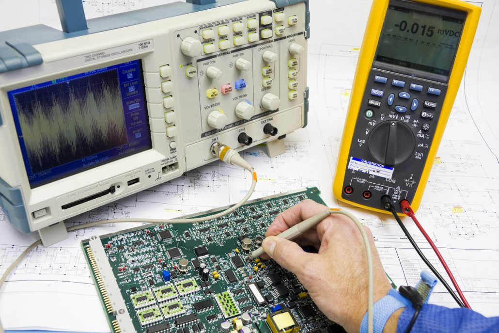 testing electrical equipment